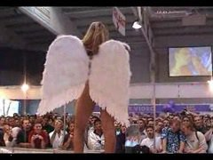 Denise nude in public as an angel by snahbrandy