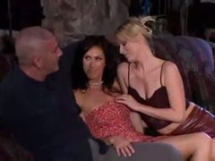 hot wife getting fucked by horny couple