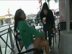 Milf picked up at coffee store