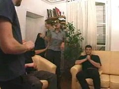 Young French Arab Amateur Gangbang