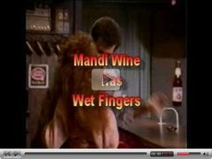 Mandi Wine has Wet Fingers