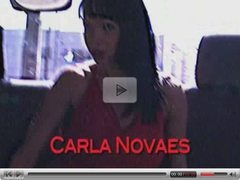 Shemale Carla Fucked in back of Van, Semi- Public