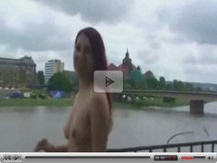 A naked walk in Dresden