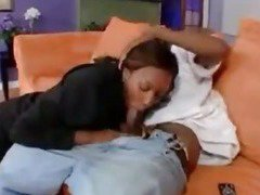 Sex scene with two hot black chicks