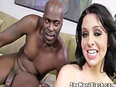 Madelyn Monroe fucked hard by a huge Black Cock