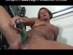 Granny Big Clit Solo Play In The Gym mature mature porn granny old cumshots cumshot