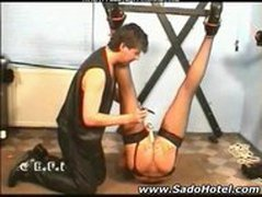 Amateur Slave Ass Punishment bdsm bondage slave femdom domination