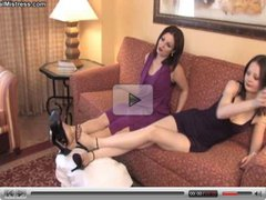 slave and mistress 5, lesbian foot-worship