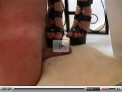 He likes being tortured by her Heels