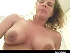 Cheating Housewife Caught On Cam