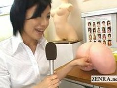 Strange Japanese doctor vaginal masturbation research