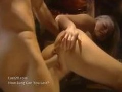 milf gets anal fucked outside