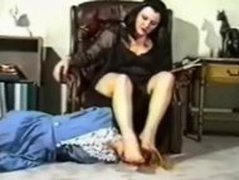 slave girl humiliated with feet