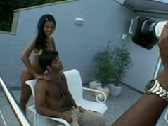 Cute brazilian teen girl fucking on camera first time 100K