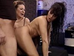 Granny and Milf Fuck the Mechanic   Demilf.com