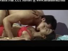 Indian Good Bhabi Bedroom Romance