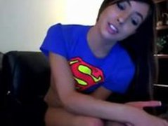 Incredible 18YearOld Batman's Supergirl Wants to Orgasm