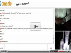 omegle 24 ( Sexy latina starts feeling herself 4 my dick)