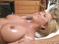 Busty Blonde Massage