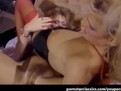 Porn star Nina Hartley 3 way hardcore