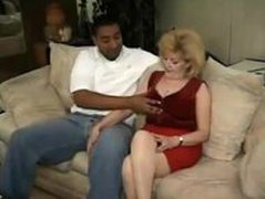 Chubby Grandmother and Black Dude