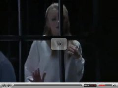 Jacqueline Lovell in prison jail (fans only?)