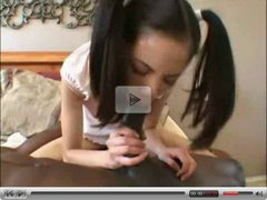 Small Asian babe fucks a BBC----She is so cute.