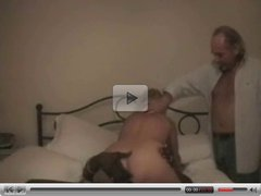 Wife Watched Taking BBC By Older Husband