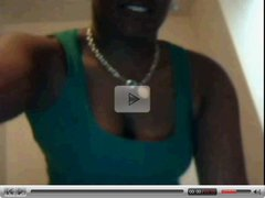 Busty black girl on msn