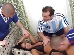 Mature Fucking Cream Pie Gang Bang