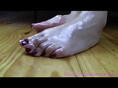 Japanese foot tease01