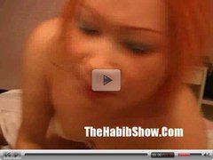 Thailiand Orange Haired Pussy Freak p2