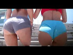 Rachel Starr & Abella Anderson shake their hot Asses