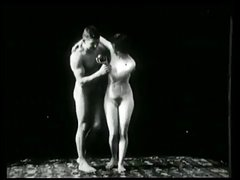 Vintage Erotic Movie 1 -  Nude Sculptures 1903