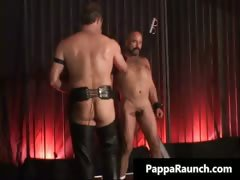 Nasty kinky gay gets bondage and gets part3