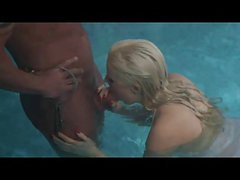 British Slut Syren Sexton gets fucked at the swimming pool