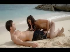 seductively hot lovers sex on the beach