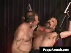 Nasty kinky gay gets bondage and gets part4