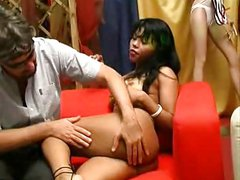 KRISS EBONY ( audition, lap dance and buggered)