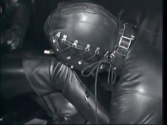leather boot worship