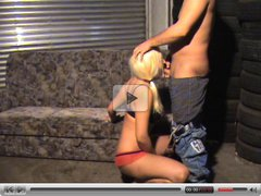 Blond german girls gets fucked in front of her mom