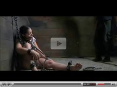 Chained Slave BDSM Pevert Training Pain and Humiliation