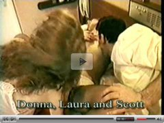 Classic British threesome with Laura Turner