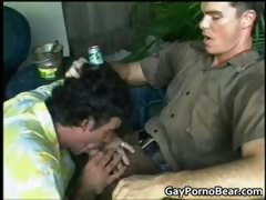 Two sexy and hot bear dudes sucking each part2