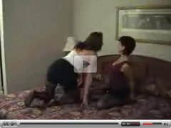Rebeca and cristina lesbian and interracial