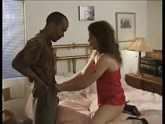 Janice Gets Some BBC In Her hairy Pussy