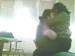 Lovers in Class Room Fun