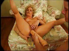 Blond slut Dakota fucked with toys and cock (Sid69)