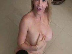 Creamed sexy cunt MILF fucked by a hard dick