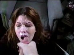 Homemade Wife BJ and Facial